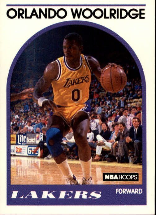 1989-90 Hoops #279B Orlando Woolridge