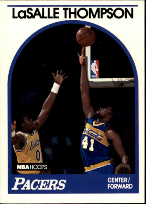 1989-90 Hoops #281 LaSalle Thompson