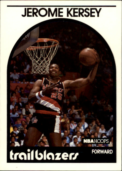 1989-90 Hoops #285 Jerome Kersey