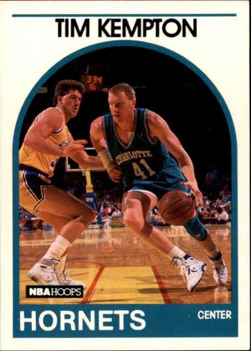 1989-90 Hoops #288 Tim Kempton SP