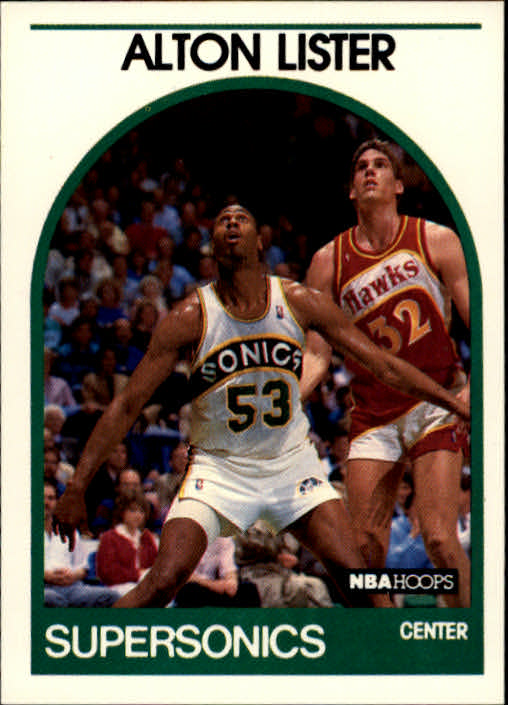 1989-90 Hoops #293 Alton Lister SP