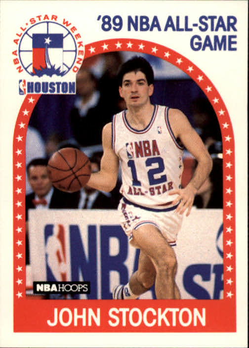 1989-90 Hoops #297 John Stockton AS