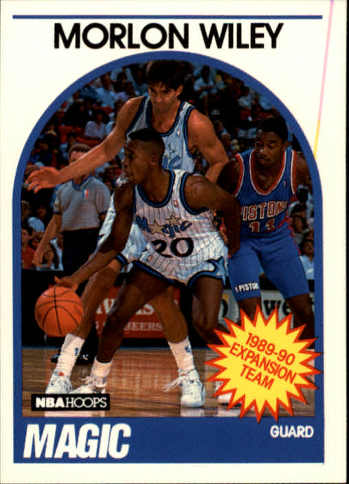 1989-90 Hoops #301 Morlon Wiley