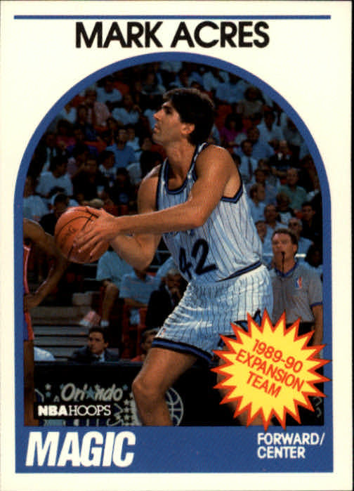 1989-90 Hoops #307 Mark Acres