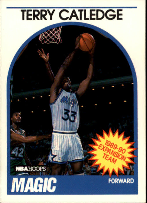 1989-90 Hoops #308 Terry Catledge
