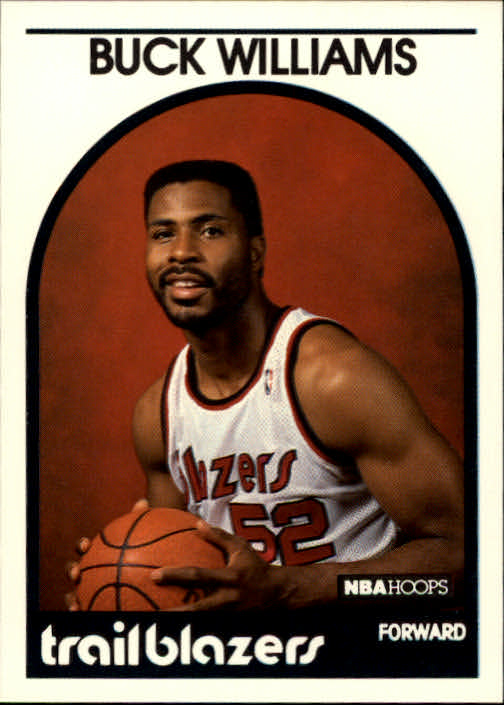 1989-90 Hoops #315 Buck Williams UER/(Won ROY in '81, should say '82)
