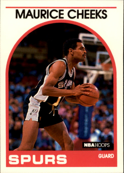 1989-90 Hoops #320 Maurice Cheeks