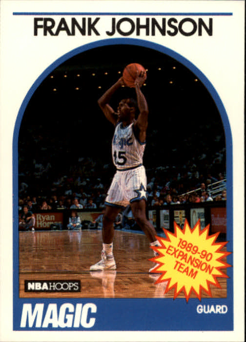 1989-90 Hoops #333 Frank Johnson