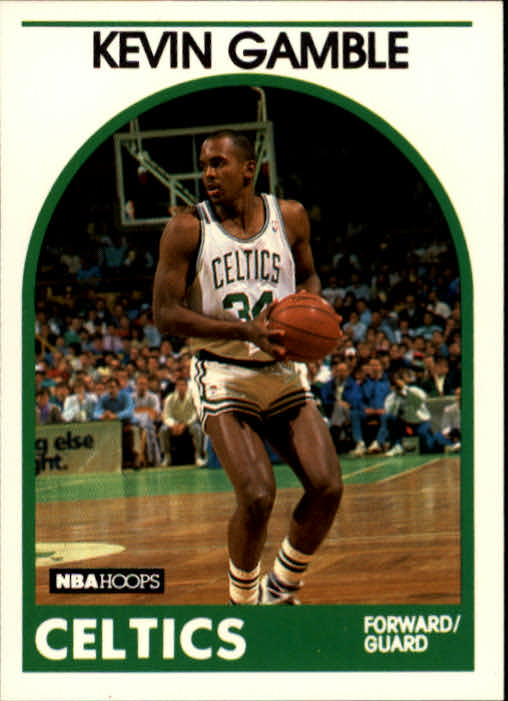 1989-90 Hoops #338 Kevin Gamble RC