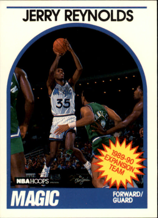 1989-90 Hoops #339 Jerry Ice Reynolds RC
