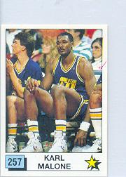 1989-90 Panini Stickers Spanish #257 Karl Malone