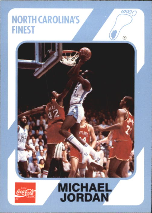 1989-90 North Carolina Collegiate Collection #13 Michael Jordan