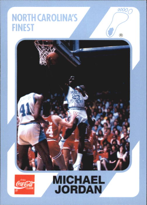 1989-90 North Carolina Collegiate Collection #14 Michael Jordan