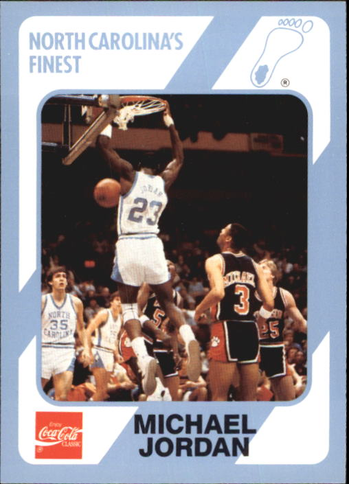 1989-90 North Carolina Collegiate Collection #15 Michael Jordan
