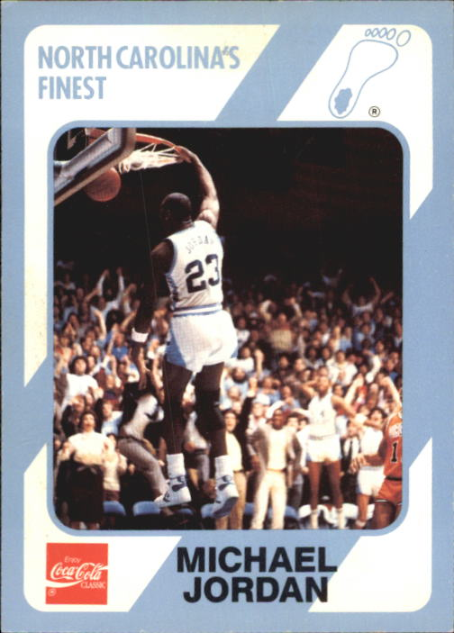 1989-90 North Carolina Collegiate Collection #16 Michael Jordan