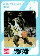 1989-90 North Carolina Collegiate Collection #17 Michael Jordan