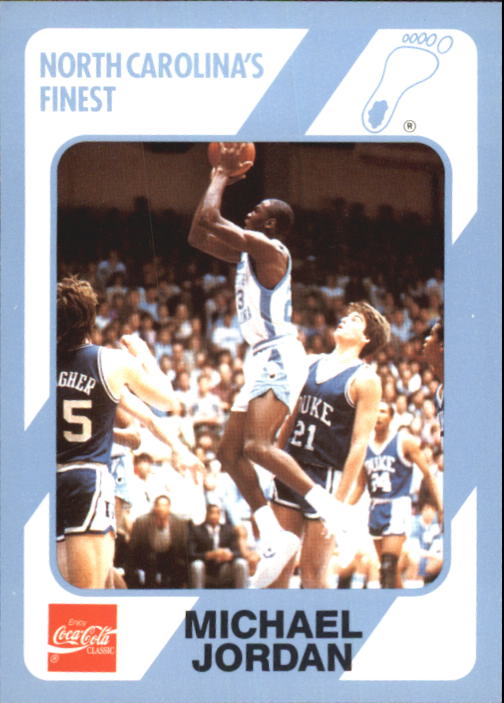 1989-90 North Carolina Collegiate Collection #18 Michael Jordan