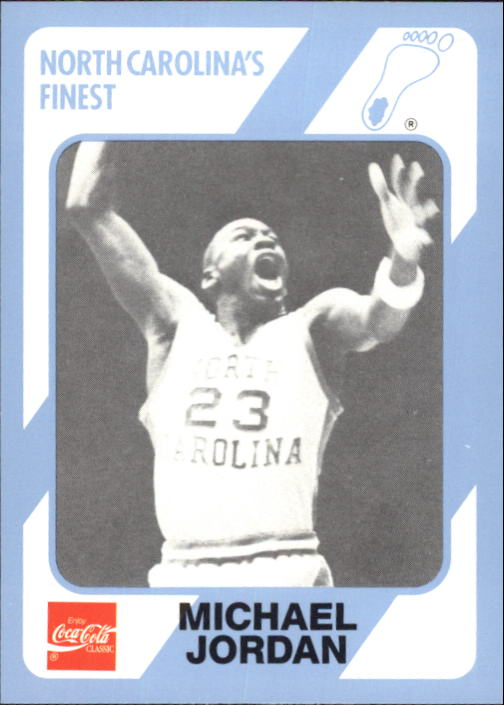 1989-90 North Carolina Collegiate Collection #65 Michael Jordan