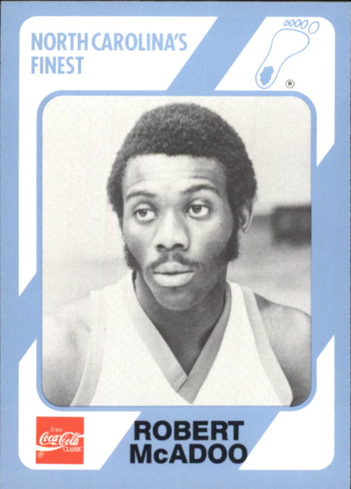 1989-90 North Carolina Collegiate Collection #76 Bob McAdoo