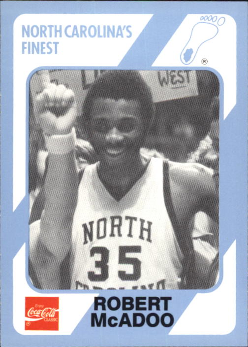 1989-90 North Carolina Collegiate Collection #115 Bob McAdoo