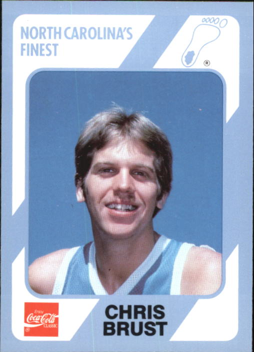 1989-90 North Carolina Collegiate Collection #193 Chris Brust