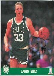 1990 Hoops Action Photos #1 Larry Bird