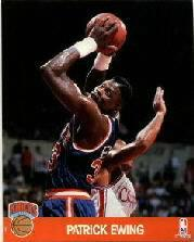 1990 Hoops Action Photos #8 Patrick Ewing
