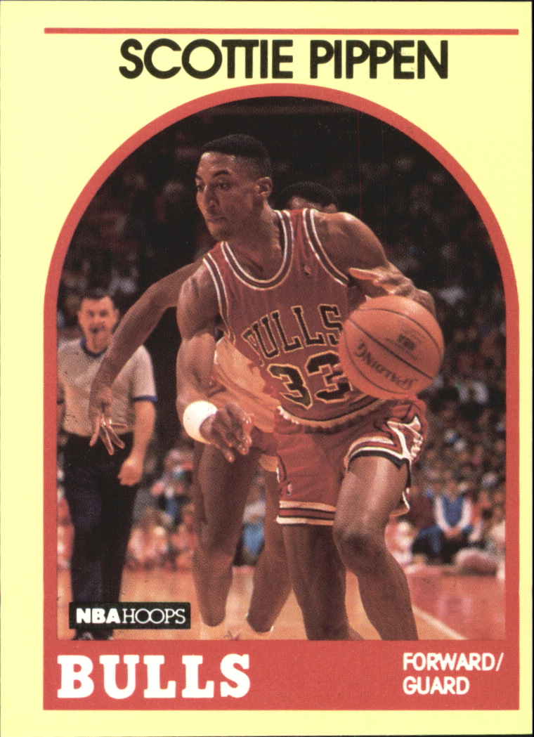 1990 Hoops 100 Superstars #13 Scottie Pippen