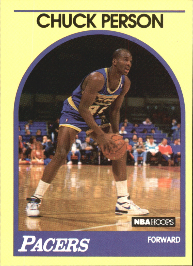 1990 Hoops 100 Superstars #41 Chuck Person