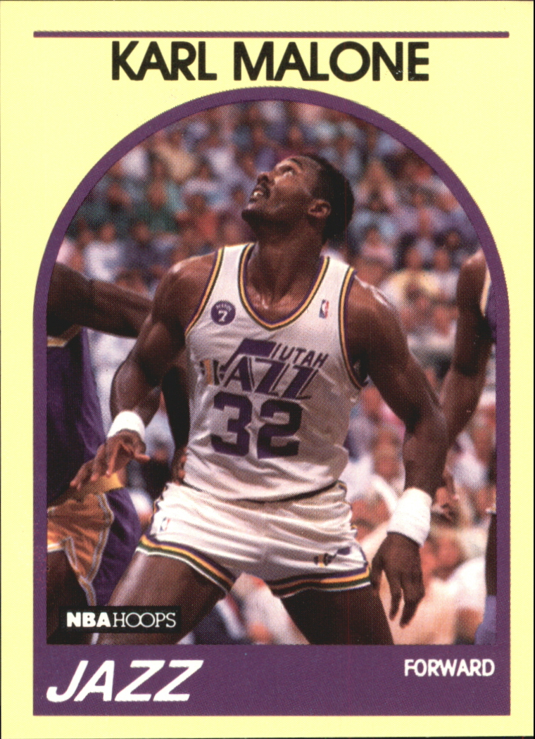 1990 Hoops 100 Superstars #94 Karl Malone