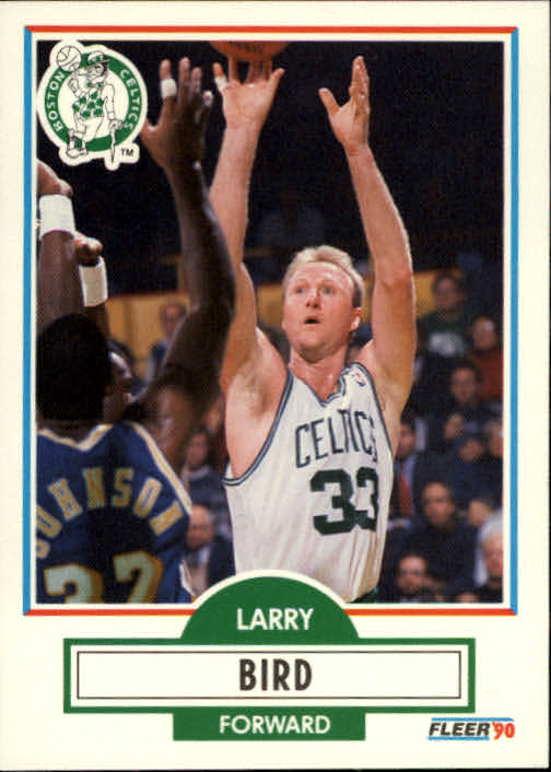 1990-91 Fleer #8 Larry Bird
