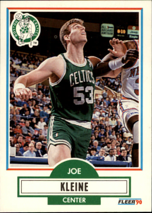 1990-91 Fleer #10 Joe Kleine