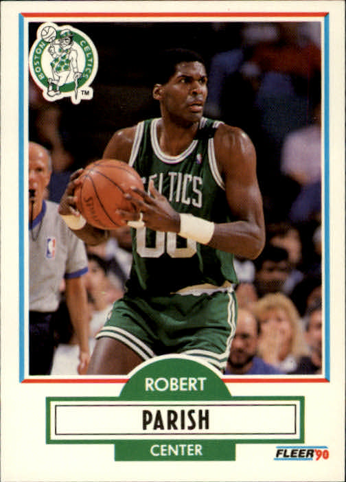1990-91 Fleer #13 Robert Parish