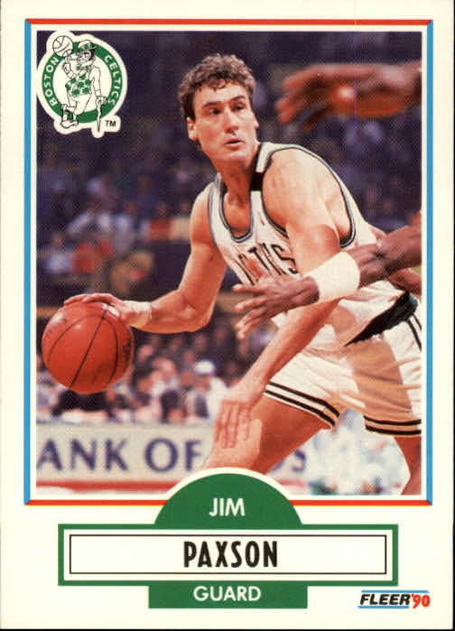 1990-91 Fleer #14 Jim Paxson