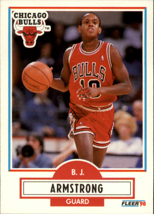 1990-91 Fleer #22 B.J.Armstrong RC