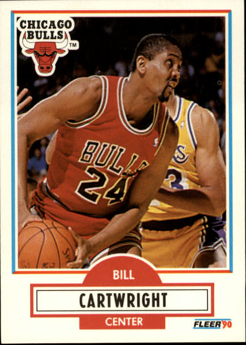 1990-91 Fleer #23B Bill Cartwright COR