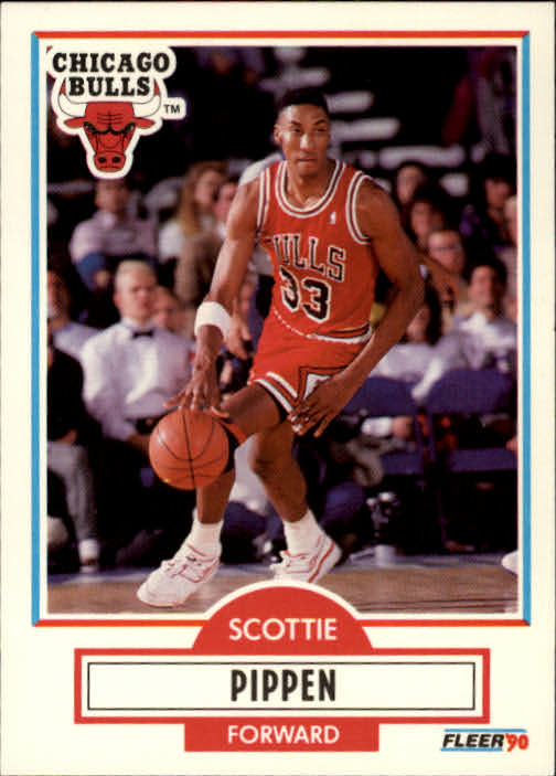 1990-91 Fleer #30 Scottie Pippen
