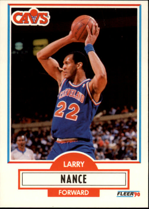 1990-91 Fleer #35 Larry Nance