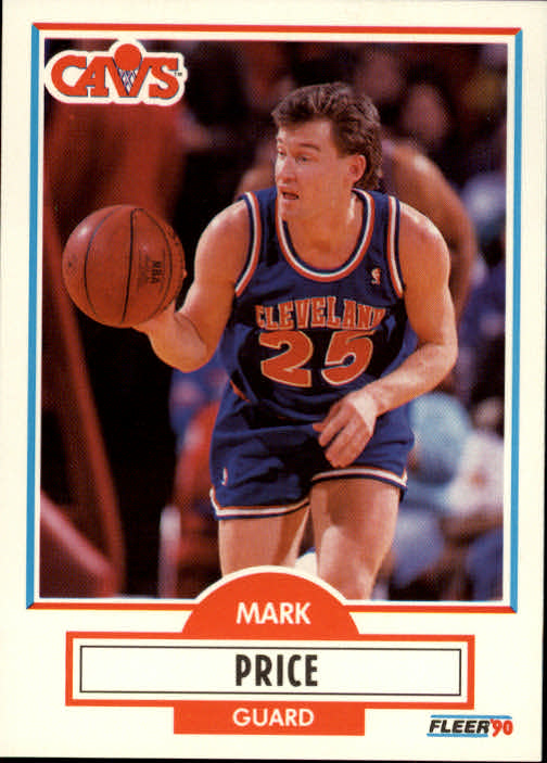1990-91 Fleer #36 Mark Price UER/(Drafted by Cleveland, should be Dallas)