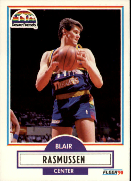 1990-91 Fleer #52 Blair Rasmussen
