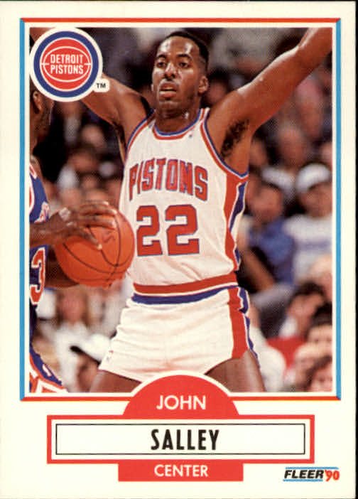 1990-91 Fleer #60 John Salley