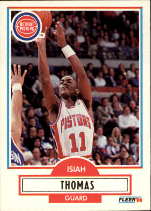 1990-91 Fleer #61 Isiah Thomas