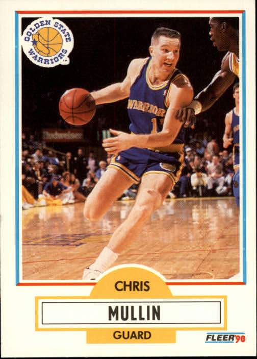 1990-91 Fleer #66 Chris Mullin
