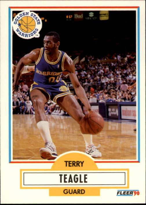 1990-91 Fleer #68 Terry Teagle