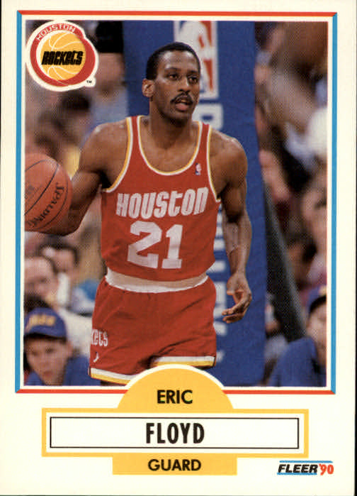 1990-91 Fleer #70 Sleepy Floyd