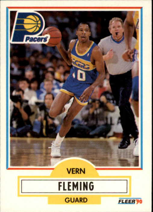 1990-91 Fleer #76 Vern Fleming