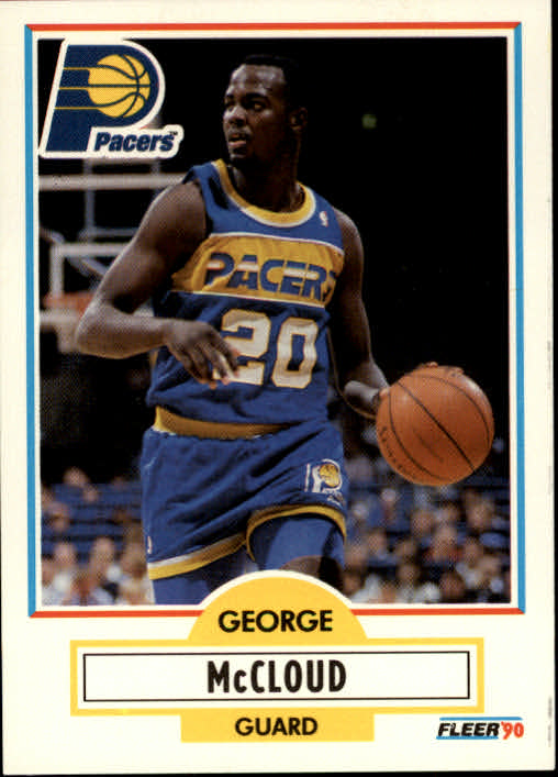 1990-91 Fleer #77 George McCloud RC