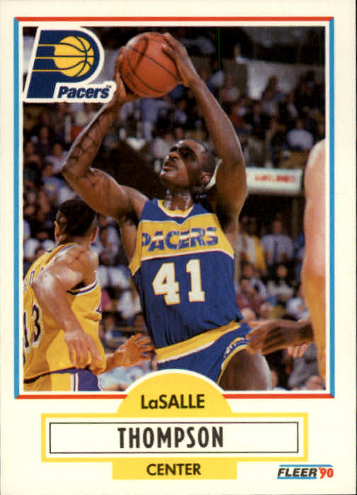 1990-91 Fleer #83 LaSalle Thompson