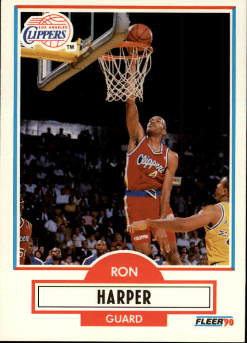1990-91 Fleer #86 Ron Harper
