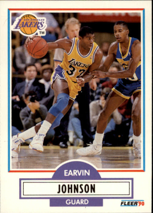 1990-91 Fleer #93 Magic Johnson